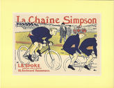 One Kings Lane Vintage Bicycle Race Poster by Toulouse Lautrec