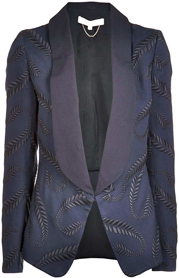 Vanessa Bruno Embroidery Jacket