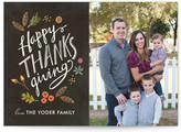Minted Bountiful Thanksgiving Cards