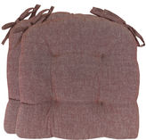 Park B Smith Park B. Smith 2-pk. Metro Farmhouse Chambray Chair Cushions