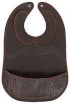 Les Pascalettes Leather-Look Brown Bib
