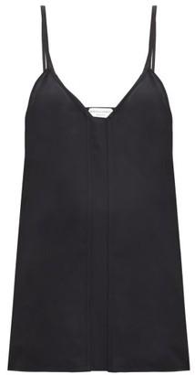 Bottega Veneta V-neck Crepe Cami Top - Black