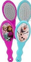 Disney Frozen Kids Hair Brush, 1 Blue Olaf Snowman, 1 Pink Elsa & Anna, 2 Pack