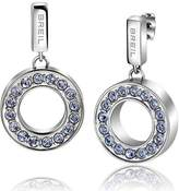 Breil Milano Earrings Breilogy Torsion Female Blu - TJ1715