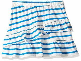 Look by crewcuts Amazon/J. Crew Brand Girls' Knit Ruffle Skirt