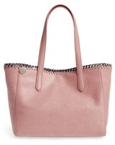 Stella McCartney Small Falabella Shaggy Deer Faux Leather Tote - Pink