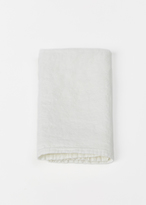 "Hawkins New York white simple linen napkin 20""x20"""