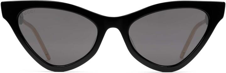 Gucci Cat eye acetate sunglasses