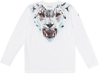 Marcelo Burlon County of Milan Kids Of Milan Lynx cotton shirt