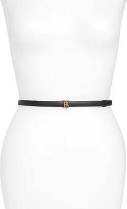 Burberry TB Monogram Reversible Leather Belt