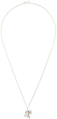 Georgia Kemball Silver Cupid Necklace