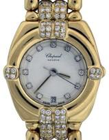 Chopard Gstaad 32/5120 18K Yellow Gold & Diamond 25mm Watch