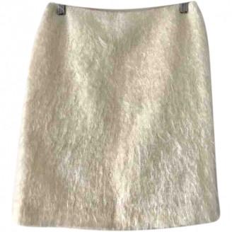 Simone Rocha Ecru Wool Skirt for Women