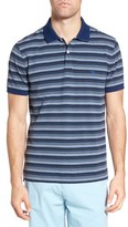 Rodd & Gunn Men's Macdonald Downs Sports Fit Stripe Pique Polo