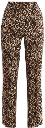 The Kooples Leopard Print Pants