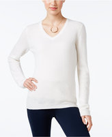 Charter Club Cashmere V-Neck Sweater, Only at Macy's