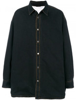 Raf Simons oversized denim shirt jacket