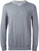 Sacai crew-neck sweatshirt