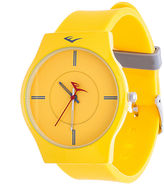 Everlast Womens Yellow Analog Watch