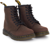 Dr. Martens Brown Distressed Leather Boots