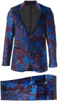 Paul Smith floral print suit jacket and trousers