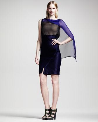 Ann Demeulemeester Asymmetric High-Waist Skirt