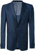 Z Zegna single breasted blazer - men - Cotton/Linen/Flax/Cupro/Wool - 48