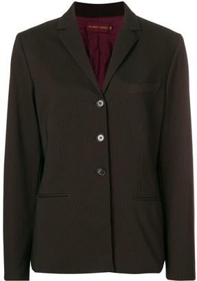 Romeo Gigli Pre-Owned pinstriped blazer