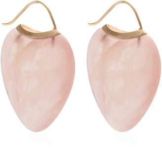 EN Rose Quartz Papal Earrings