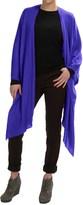 Forte Cashmere Ruana Wrap - Merino Wool-Silk (For Women)