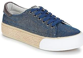 Mtng MTNG ERTIMOR women's Shoes (Trainers) in Blue