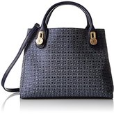 Tommy Hilfiger Elaine Jacquard Shopper Convertible Top Handle Bag