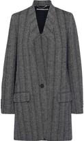 Stella McCartney Bryce Herringbone Wool-blend Coat