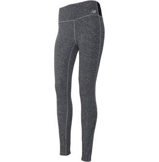 New Balance Womens Space Dye Deep Waisted Running Tight Leggings Athletic Charcoal