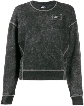 Nike Cropped Stonewash Sweatshirt