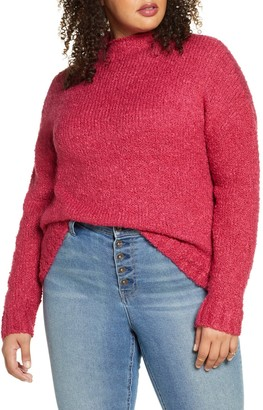 BP Funnel Neck Boucle Sweater