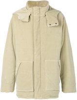 Yeezy oversized hooded jacket