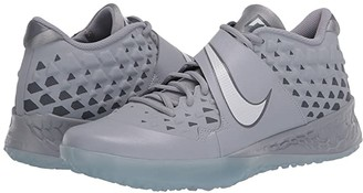 Nike Force Zoom Trout 6 Turf (Black/Black/Anthracite/Total Orange) Men's Cleated Shoes