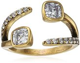 """Nicole Miller Artelier"""" Cushion Crossover Ring, Size 7"""