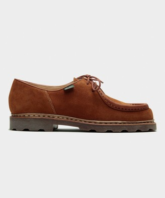 Paraboot Michael Suede Whiskey Shoe