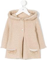 Opililai faux fur trimmed hooded coat