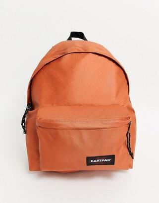 Eastpak backpack in metallic copper