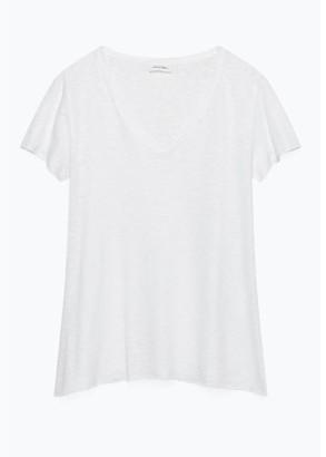 American Vintage T Shirt Kobi 57 White - S