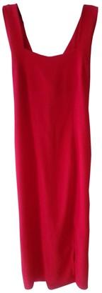 Non Signã© / Unsigned Red Silk Dresses