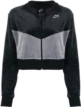 Nike cropped Heritage jacket