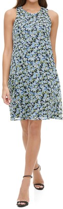 Tommy Hilfiger Ditsy Floral Print Shift Dress