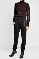 Haider Ackermann Cotton Sweatpants with Zippers