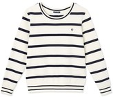 Petit Bateau Mens striped sweatshirt