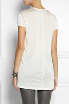 Rick Owens Forever silk-jersey T-shirt