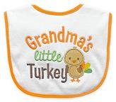 Hamco Grandma's Little Turkey Appliqued Feeder Bib